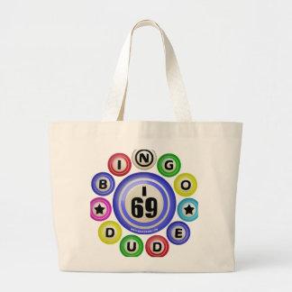 I69 Bingo Dude Large Tote Bag