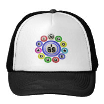 I69 Bingo Dude Trucker Hat