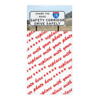 I-15 Safety Corridor Card