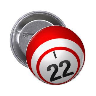 I 22 bingo button