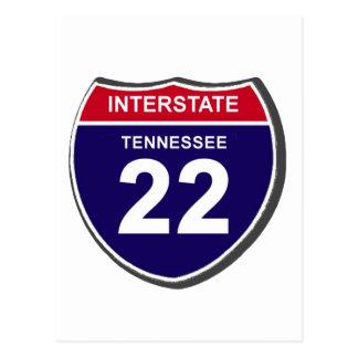 I-22 TENNESSEE POSTCARD