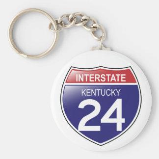 I-24 Kentucky Keychain