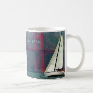 I 36 mug, Sailing SF Bay, Sailing SF Bay Coffee Mug