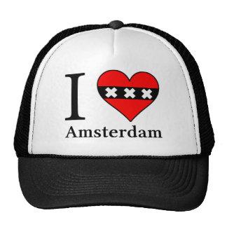 I <3 Amsterdam Cap Mesh Hat