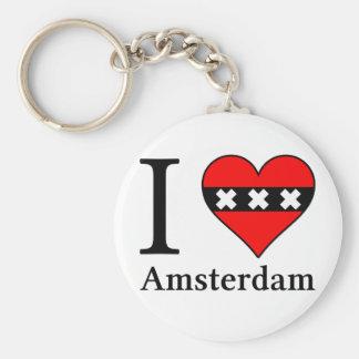 I <3 Amsterdam keychain