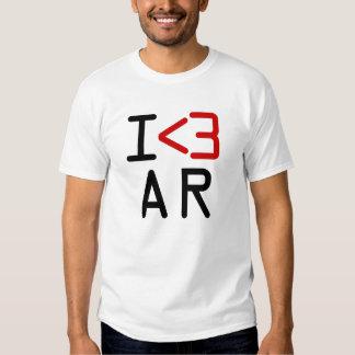 I <3 AR T SHIRT