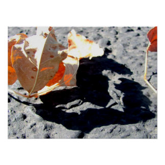 I <3 Autumn Poster