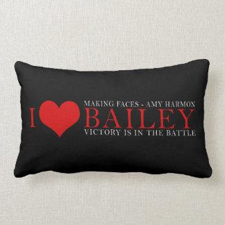 I <3 Bailey Lumbar Pillow