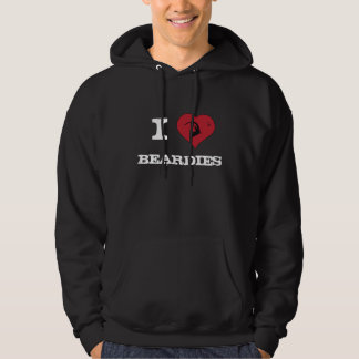 I <3 Bearded Dragons Hooded Pullover