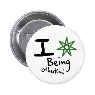 I <3 Being Otherkin Button