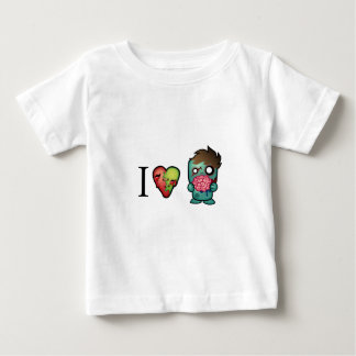 I <3 Brains- Zombies Are Everywhere! Baby T-Shirt