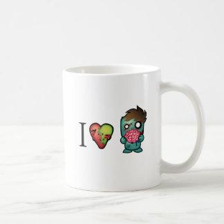 I 3 Brains- Zombies Are Everywhere Mugs