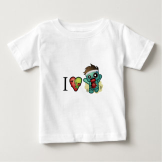I <3 Cardio-Zombies Are Everywhere! Baby T-Shirt