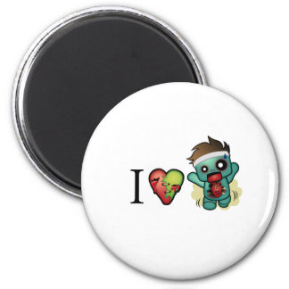 I <3 Cardio-Zombies Are Everywhere! Magnets