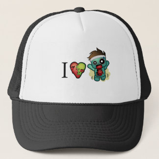 I <3 Cardio-Zombies Are Everywhere! Trucker Hat