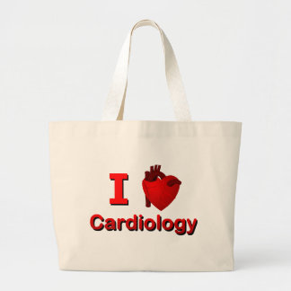 I <3 Cardiology Tote Bags