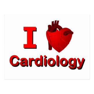 I <3 Cardiology Postcard