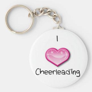 I<3 cheer keychain