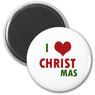 I <3 CHRISTmas Fridge Magnets
