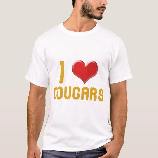 I <3 Cougars T-Shirt