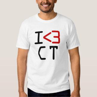 I <3 CT T-SHIRT