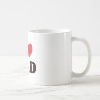 I <3 Dad Classic White Coffee Mug