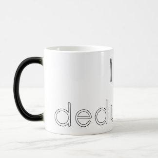 I <3 deduction coffee mug