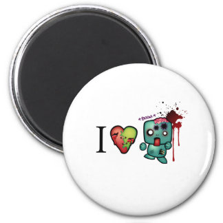 I <3 doubletaps- Zombies are everywhere Magnet