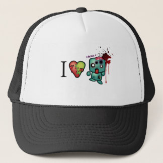 I <3 doubletaps- Zombies are everywhere Trucker Hat