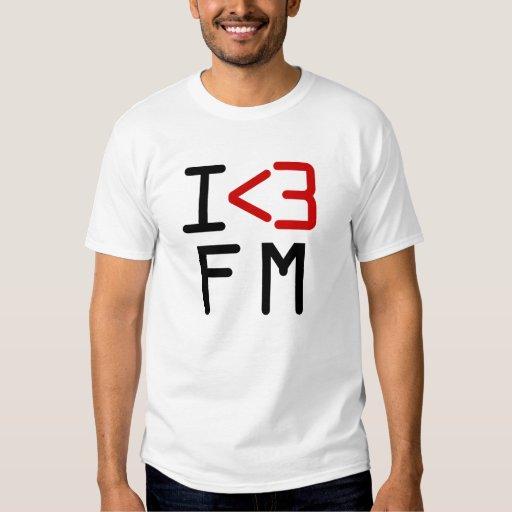 I <3 FM T-SHIRT