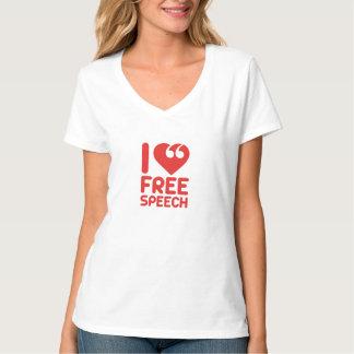 I <3 FREE SPEECH T-Shirt