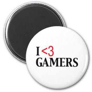 I <3 Gamers Magnet