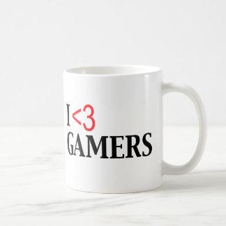 I <3 Gamers Mugs