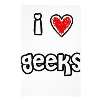 I 3 Geeks Stationery Design