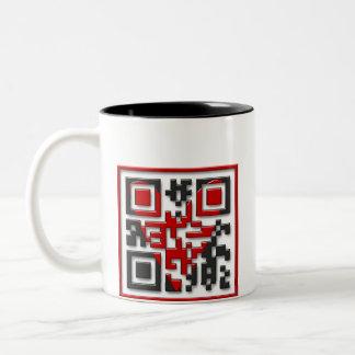 I <3 Geeks Two-Tone Coffee Mug