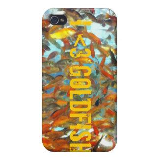 i <3 goldfish iphone 4 case