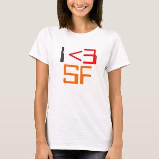 I <3 [heart] SF T-Shirt