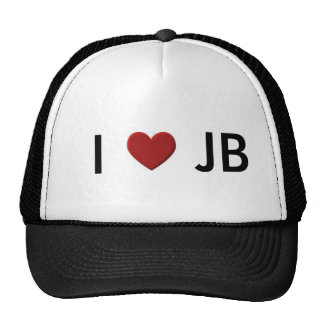 I <3 JB hat