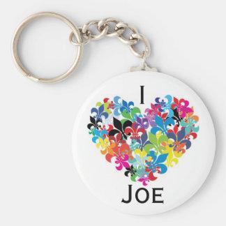 I <3 Joe Keychain