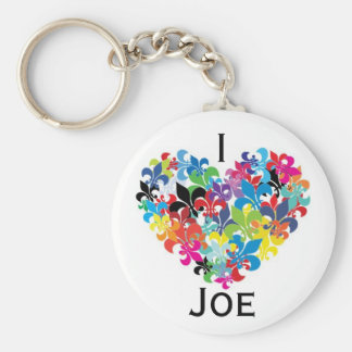 I <3 Joe Key Chains