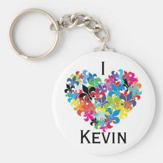 I <3 Kevin Keychain