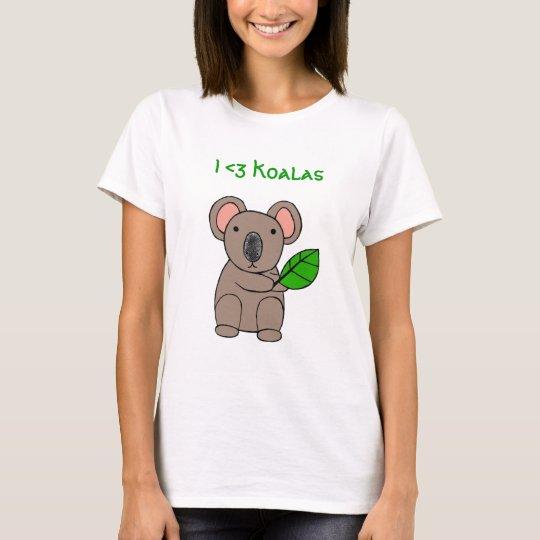 I <3 Koalas T-Shirt