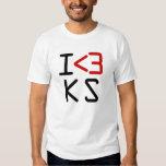 I <3 KS SHIRT