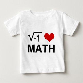 I <3 MATH BABY T-Shirt