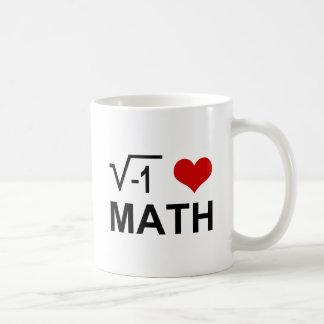 I <3 Math Classic White Coffee Mug