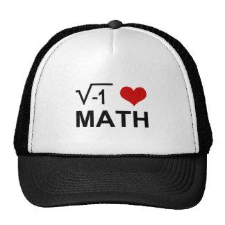 I <3 Math Mesh Hats