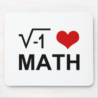 I <3 Math Mousepad
