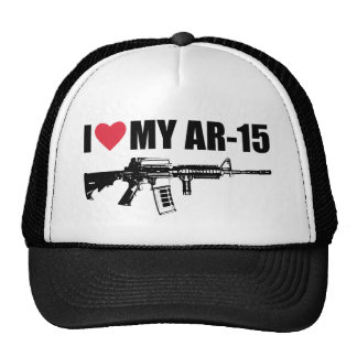 I <3 mi AR-15 Gorros
