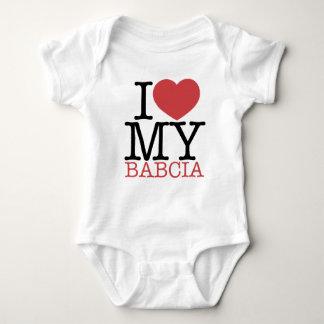 I <3 mi Babcia Playera