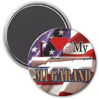 I <3 MI imán de M1 GARAND